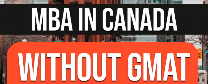 mba-canada-without-gmat